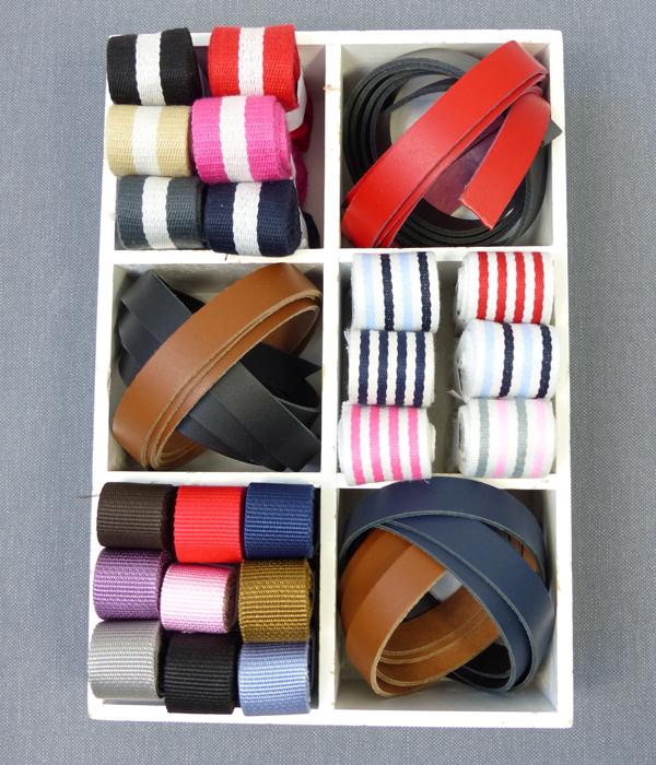 Gurt-Bänder & Lederriemen